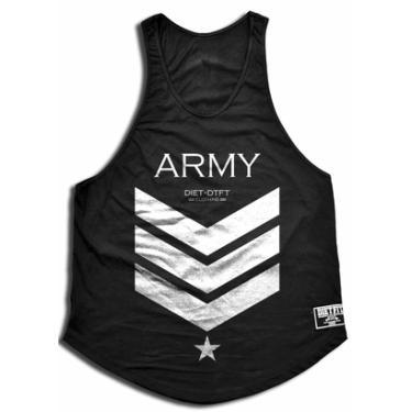 Camiseta Regata Cavada Army - Masculino 4f0e25e299d