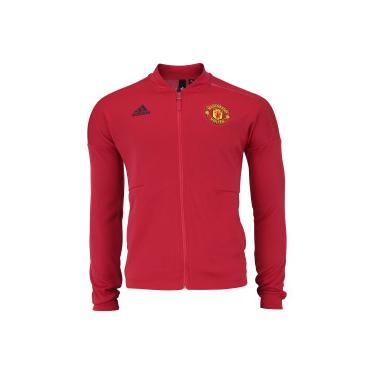 498bacfb4 Jaqueta Manchester United 18 19 ZNE adidas - Masculina - VERMELHO adidas
