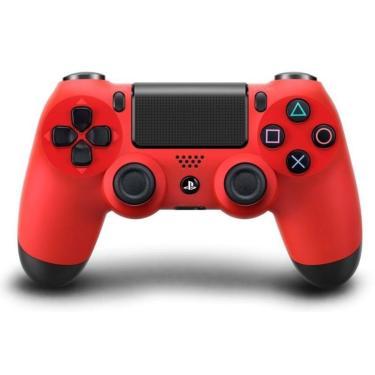 Controle Playstation 4 Ps4 - Original - Vermelho