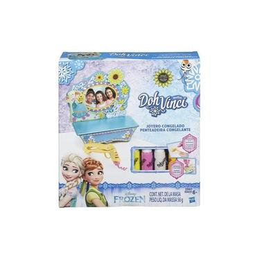 Imagem de Brinquedo Doh Vinci Penteadeira Da Frozen Hasbro B5512
