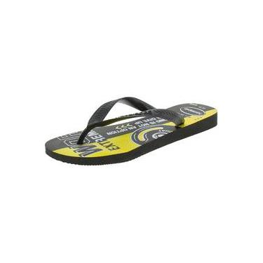 Chinelo Masculino Top Athletic Havaianas - 4141348 Preto/amarelo