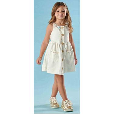Vestido Verão Kiki Xodó 1/4 3787 Off White 02