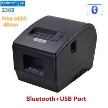 Imagem de Xprinter-impressora de etiquetas, código de barras quente, 58mm, auto-adesivo, código bidimensional,