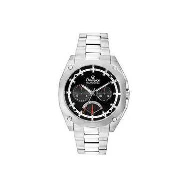 18ffff1dc28 Relógio Champion Masculino Ca30427t Multi-Função Calendário Cronógrafo  Resistente É Ãx81Gua