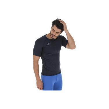 Camisa Térmica Umbro TWR Graphic - Masculina - PRETO Umbro 6f685eeda0f67