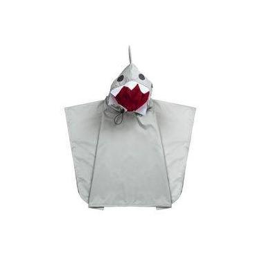 Capa de Chuva Dani Lessa Tubarão Cinza Tamanho 1