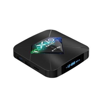 R-TVCaixaX10S905W2GB 16GB 100 M LAN 2.4G WI-FI Android 4K H.265 VP9 TV Caixa