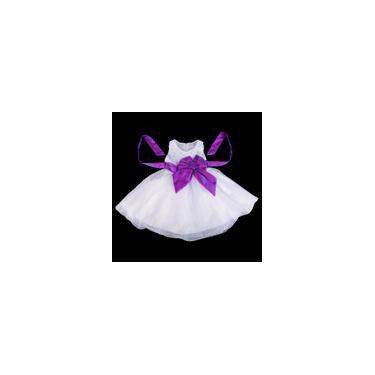 Estilo coreano vestido de princesa violeta-100