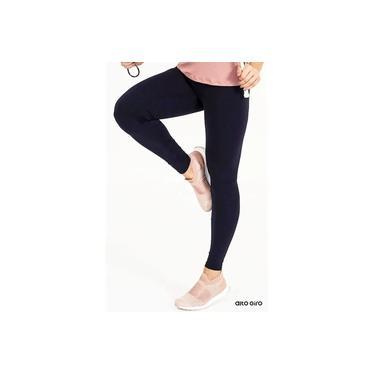 Legging Alto Giro Supplex Termo Preto 101302