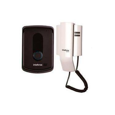 Imagem de Porteiro Interfone Eletrônico IPR 8010 Residencial Intelbras, abre até 2 Fechaduras, superior ao IPR