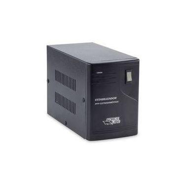 Imagem de Estabilizador Eletrodoméstico 3000va Preto Forceline