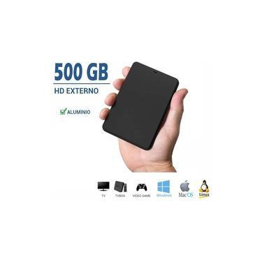 Hd Externo 500gb Samsung Toshiba Seagate Com Cabo 2.5 Promoção