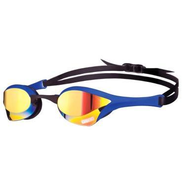 Óculos de Natação Cobra Ultra Mirror Arena - Azul/Lente Amarelo