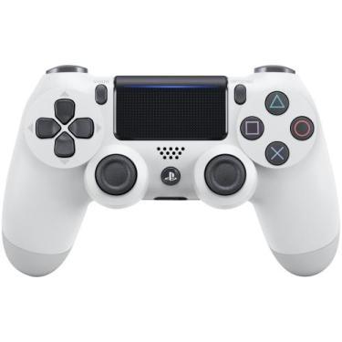 Controle para PS4 sem Fio Dualshock 4 Sony - Branco Glacial