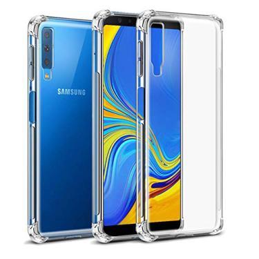 Capa Anti Shock Para Samsung Galaxy A7 2018, Cell Case, Capa Anti-Impacto, Transparente