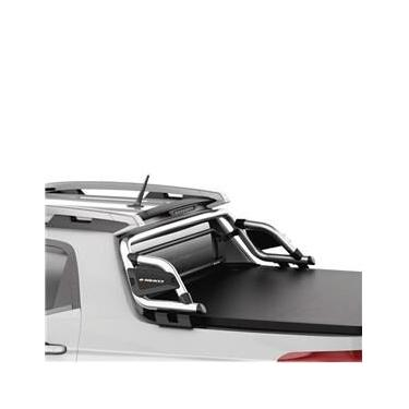 Santo Antonio Fiat Toro 2016 a 2021 Keko com Grade Vidro Protetor Caçamba Cromado