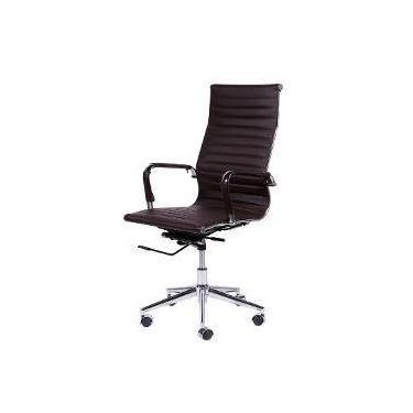 aebfc07a1 Cadeira Office Eames Presidente Com Rodízio E Sistema Relax Cafe´