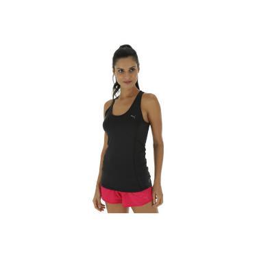 63f4b820c8 Camiseta Regata Puma Essential Layer - Feminina - PRETO Puma