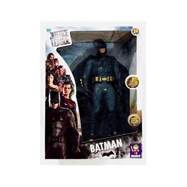 Boneco Batman Dc Comics Liga Da Justiça 45 Cm Mimo