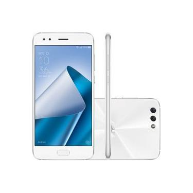 Smartphone Asus Zenfone Prime Plus Octa Core Android 7 Tela 5.5 Full Hd 2 Chips 4g Cam 12mpx 64gb - Branco