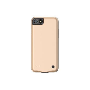 Capa Carregadora Iphone 7/8 4,7 Pol 2500mah Baseus Bateria Extra Fina Slim Backpack Baseus Gold