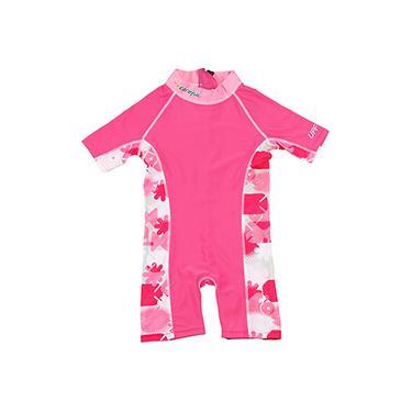Macacão para Natação Careful Swim Suits Rosa - Bestway