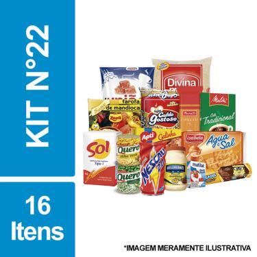 Cesta Básica De Alimentos C/ 16 Itens