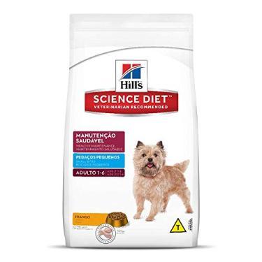 Ração Hill's Science Diet para Cães Adultos - Pedaços Pequenos - 15kg