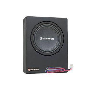 """Caixa Amplificada Ativa Slim Selada Premier Audio com 1 Subwoofer 8"""" - 280 Watts RMS"""