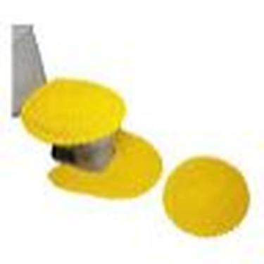 Imagem de Conjunto De Tapetes De Banheiro Em Crochê Colorido - 4 Peças