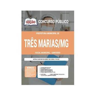 Imagem de Apostila Três Marias Mg - Fiscal Municipal - Sanitário