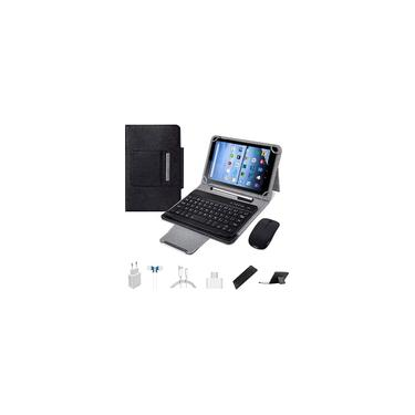 Imagem de Tablets 10.1 inch Android 9.0,2 in 1Tablet with Keyboard, Tablet case & Mouse,4GB ram 64GB ROM, Dual sim 4G Call 8MP,8000mAh Computer Tablets, Bluetooth/Google Play/GPS Ta Importado