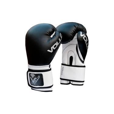 Luva Boxe Muay Thai Vollo Preta 10Oz