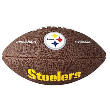 Bola Futebol Americano NFL Pittsburgh Steelers Wilson - WTF1540XBPT 2bf74ff69b772