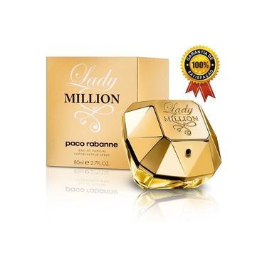 Perfume Feminino Lady Millíon 80ml Eau de Parfum Original