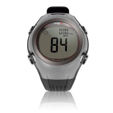 Monitor Cardíaco Atrio Esportes Altius com Cinta Cardíaca Cinza 1 Monitor Cardíaco + Cinta Cardíaca