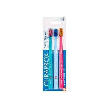 Imagem de Escova Dental Curaprox Cs5460 Ultra Soft Sensitiv Trio Color
