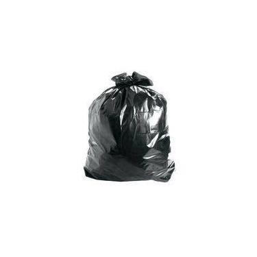 Saco De Lixo Lixofran Preto 50 Litros Com 10 Unidades