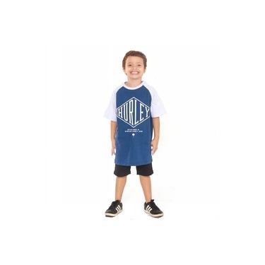 Camiseta Hurley Infantil 634704 Azul