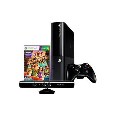 Imagem de Console Xbox 360 Super Slim 4GB Mostruário + Sensor kinect + 1 Jogo de Kinect Aleatório (Leia a Descrição)