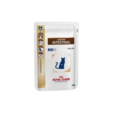 Ração Royal Canin Sachê Feline Veterinary Diet Gastro Intestinal Wet - 100 G