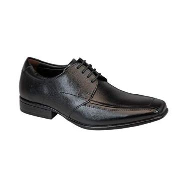 Sapato Social Democrata Jazz Preto Masculino 39