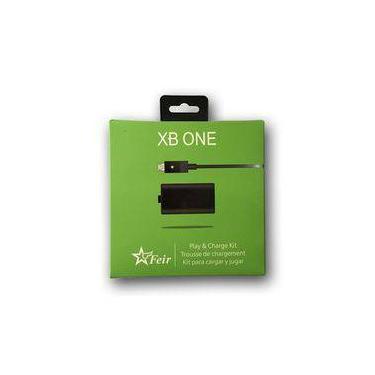 Kit 2 Baterias Controle Xbox One Recarregavel Com Cabo Usb