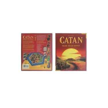 Catan jogo de tabuleiro jogo de cartas temático educacional