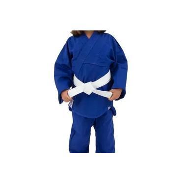 Kimono de Judô Infantil Combate Torah Azul