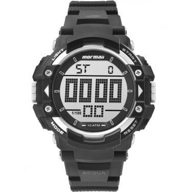 10d72185e3b Relógio Masculino Mormaii Acqua MO15190AA 8K Preto