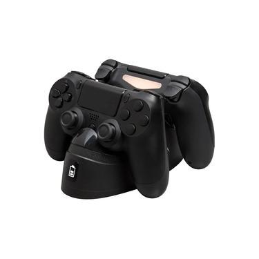 Charge Play Duo HyperX Carregador para controle PS4 - HX-CPDU-C