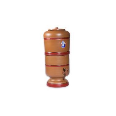 Filtro Barro 15 Litros Com 2 Velas Carvão E 2 Boias - Gmold