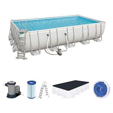 Piscina Estruturada 26.845l Frame Pool 6.71m x 3.66m x 1.32m Filtro 5678 l/h - 220v