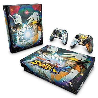 Skin Adesivo para Xbox One X - Naruto Shippuden: Ultimate Ninja Storm 4
